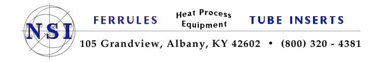 NS Industries Heat Process Equipment Contact Information
